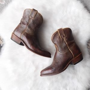 FRYE | Billy Short Boot - Vintage Tumbled Leather